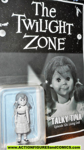 Twilight Zone TALKY TINA Black & white 2014 series 1 bifbangpow moc