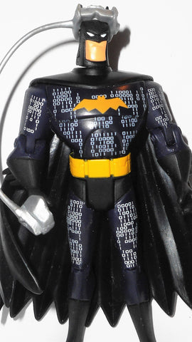 justice league unlimited BATMAN digital cyber defender suit & VR headset dc universe