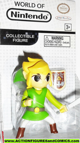 World of Nintendo LINK legend of zelda 2.5 inch VARIANT jakks pacific moc