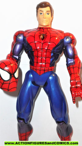 marvel universe toy biz PETER PARKER Spider-man 10 inch animated deluxe