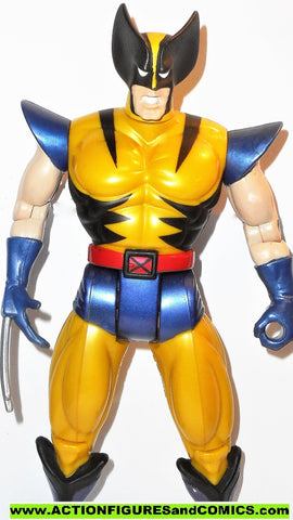 X-men X-force toy biz WOLVERINE 10 inch GLOSSY YELLOW