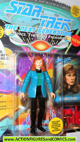 Star Trek DR BEVERLY CRUSHER the next generation 1993 playmates moc