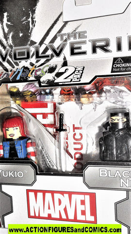 minimates URBAN YUKIO Black Clan NINJA wolverine movie marvel x-men moc