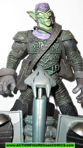 marvel legends GREEN GOBLIN spider-man classics 2003 2004 6 inch glider