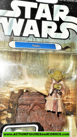 star wars action figures YODA otc original trilogy trilogy 2005 2 02 moc