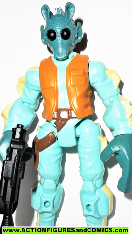 STAR WARS Hero Mashers GREEDO complete A New Hope action figures