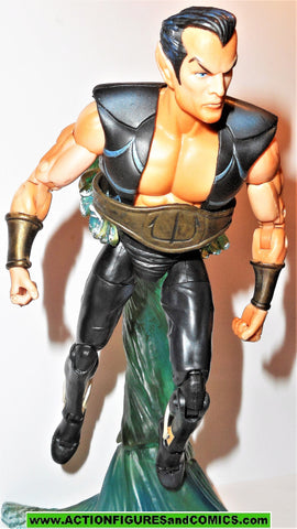 marvel legends NAMOR Sub mariner series II 2 toy biz water base