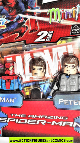 minimates SPIDER-MAN PETER PARKER amazing movie marvel universe moc mib