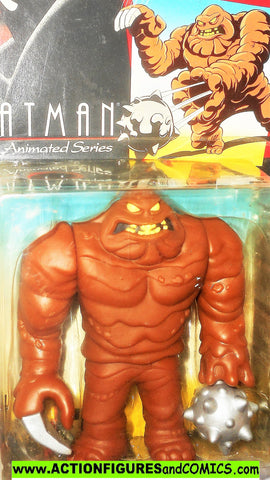 BATMAN animated series CLAYFACE 1993 Kenner toy action figure moc 000