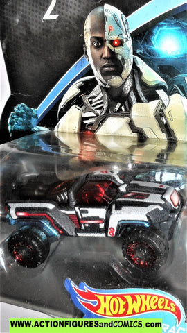 DC Hotwheels CYBORG Injustice 2 character cars vehicle hot wheels matchbox