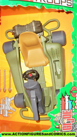Gi joe MOBILE ASSAULT 12 inch scale dune buggy spytroops 2003 moc mip mib