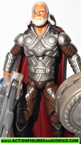 marvel universe ODIN thor movie shield bash silver armor 2010