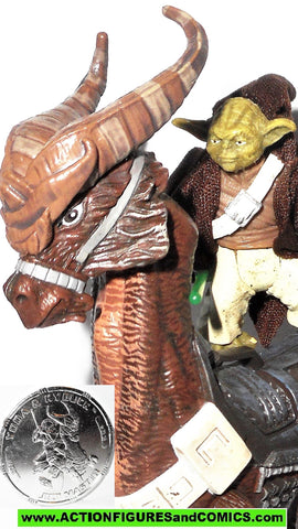 star wars action figures YODA & KYBUCK 30th anniversary 32 2007