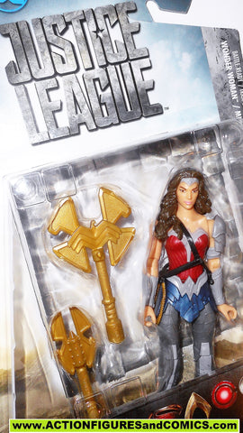 dc universe movie Justice League WONDER WOMAN battle ready gal gadot MOC