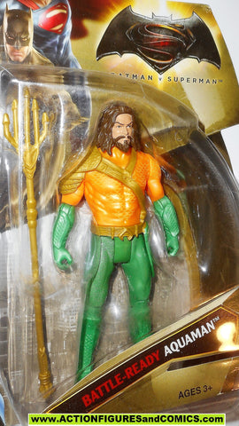 dc universe movie Batman v Superman AQUAMAN classic suit variant MOC