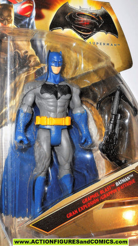 dc universe movie Batman v Superman BATMAN grapnel blast VARIANT BLUE