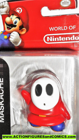 World of Nintendo SHY GUY super mario bros 2.5 inch 2015 jakks pacific moc