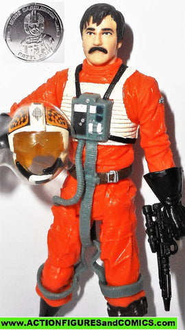 star wars action figures BIGGS DARKLIGHTER x-wing pilot 30th anniversary 2006 2007
