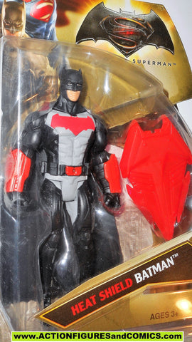 dc universe movie Batman v Superman HEAT SHIELD BATMAN 2016 action figure moc