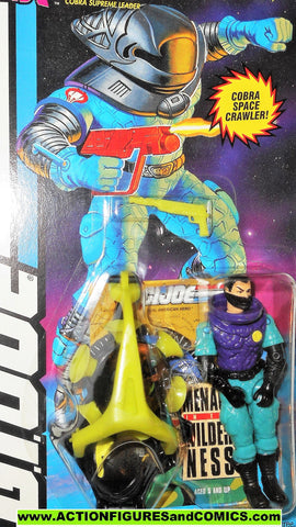 gi joe COBRA COMMANDER 1994 star brigade vintage action figures moc