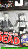 minimates DALE FEMALE ZOMBIE the walking dead halloween comicfest moc