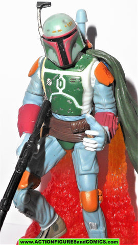 star wars action figures BOBA FETT pit of carkoon sarlack 2003 otc