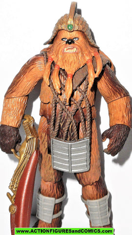 star wars action figures WOOKIE WARRIOR sneak preview revenge of the sith ROTS