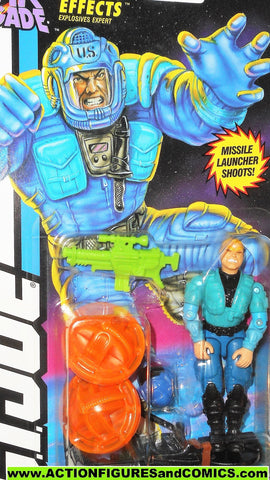 gi joe EFFECTS 1994 star brigade vintage action figures moc 077