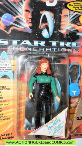 Star Trek DR BEVERLY CRUSHER movie generations 1994 playmates moc