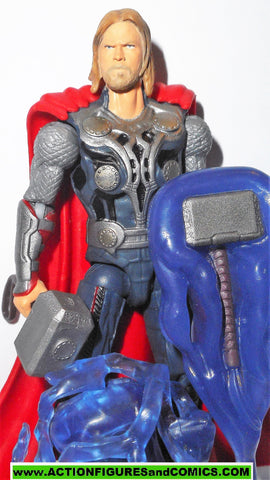 marvel universe THOR Shock strike 4 inch avengers movie 2011 complete