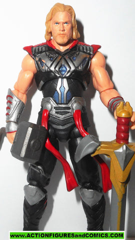 marvel universe THOR battle hammer 2011 movie hasbro action figure fig