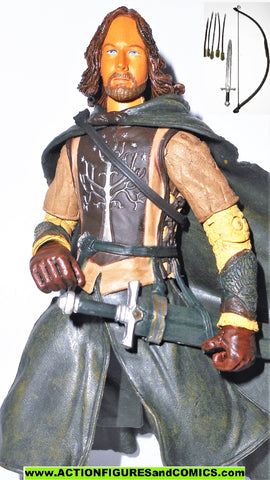 Lord of the Rings FARAMIR Ranger COMPLETE 2002 toybiz hobbit lotr