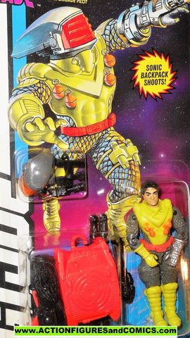 gi joe SCI FI 1994 v4 star brigade 1993 yellow gijoe action figure moc