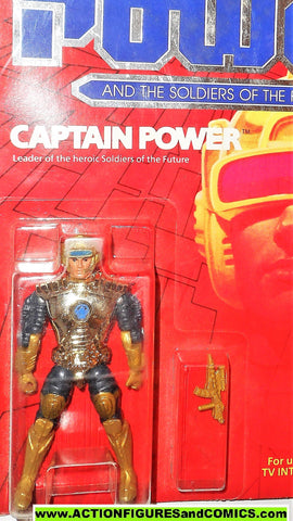 Captain Power CAPTAIN POWER Soldiers of the Future Leader 1987 moc