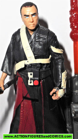 star wars action figures CHIRRUT IMWE blind force rogue one complete 2016