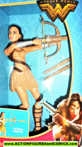 dc universe WONDER WOMAN 12 Inch bow wielding movie amazon mib moc
