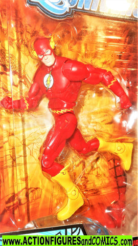dc universe classics FLASH barry allen wave 7 atom smasher series moc