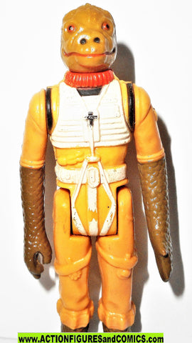 star wars action figures BOSSK 1980 vintage kenner empire strikes back fig