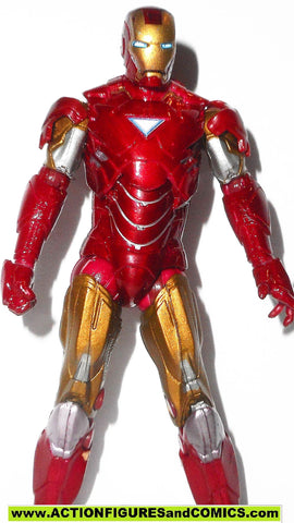 marvel universe IRON MAN mark VI 2 movie action figures 4321