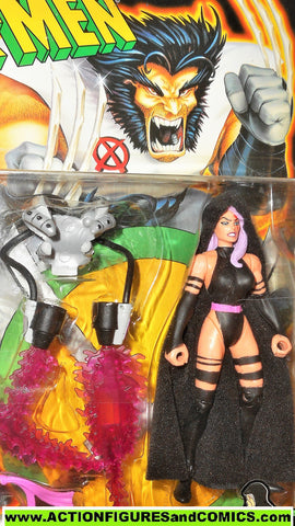 X-MEN X-Force toy biz PSYLOCKE ninja 1996 marvel universe moc