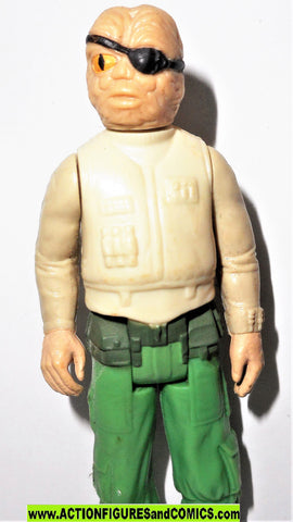 star wars action figures PRUNEFACE 1984 vintage return of the jedi kenner fig