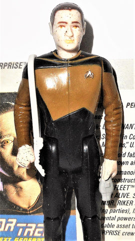 Star Trek DATA commander the next generation 1988 galoob