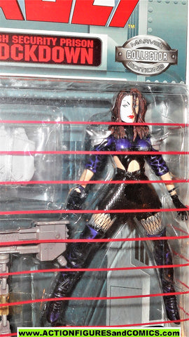 Marvel Universe toy biz TYPHOID MARY Daredevil super villains vault moc