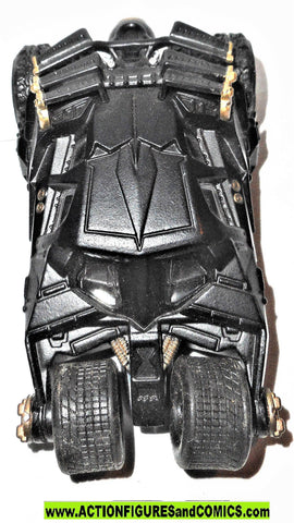 BATMAN dark knight Hot wheels BATMOBILE tumbler 1:50 4 inch die cast