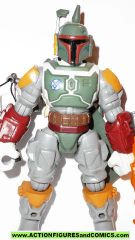 STAR WARS Hero Mashers BOBA FETT 2015 6 inch toy figure