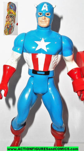 secret wars CAPTAIN AMERICA 1984 vintage mattel complete marvel #4222