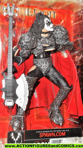 KISS mcfarlane toys GENE SIMMONS creatures the demon 2002 mip moc