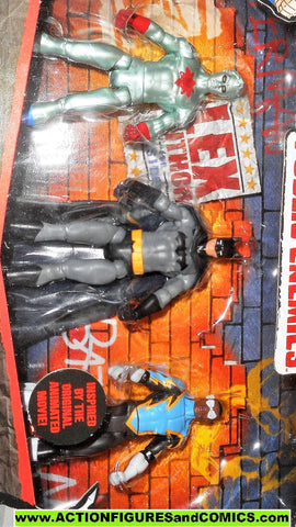 dc universe infinite heroes THREE PACK PUBLIC ENEMIES batman captain atom black lightning moc mib