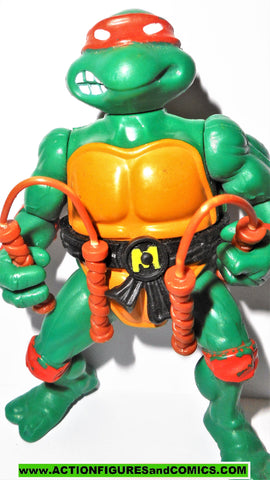 teenage mutant ninja turtles MICHELANGELO 1988 vintage original w nunchuks tmnt 426