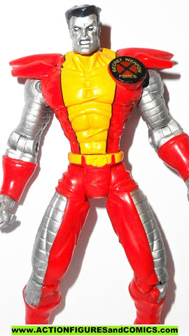 X-MEN X-Force toy biz COLOSSUS secret weapon force water shooters fig